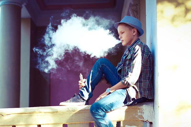 Health Effects of Vaping Banner